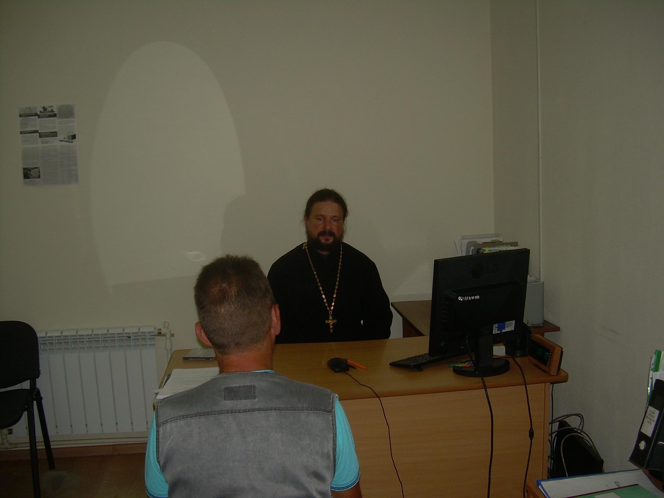 С осуждёнными, стоящими на учете в УИИ УФСИН России по Республике Адыгея проводятся духовно-нравственные беседы