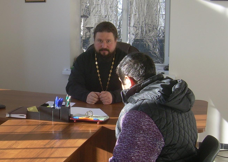 С осуждёнными, стоящими на учете в уголовно-исполнительной инспекции проводятся духовно-нравственные беседы