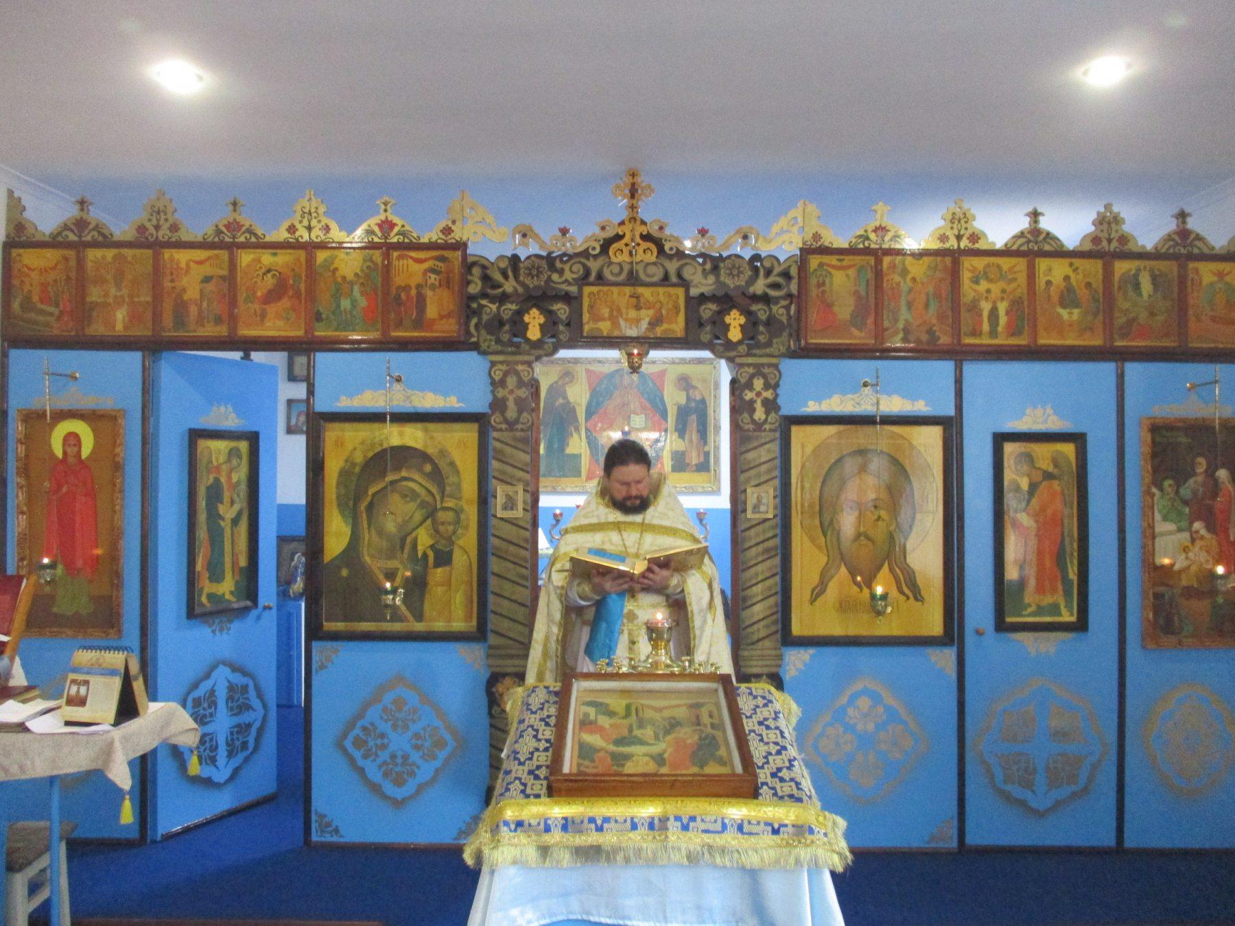 Обновленный храм в честь Рождества Пресвятой Богородицы в исправительной колонии № 1 открыл свои двери для прихожан