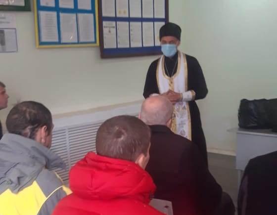 Православный священник провел беседу с осужденными, посвященную Всемирному дню памяти жертв ДТП