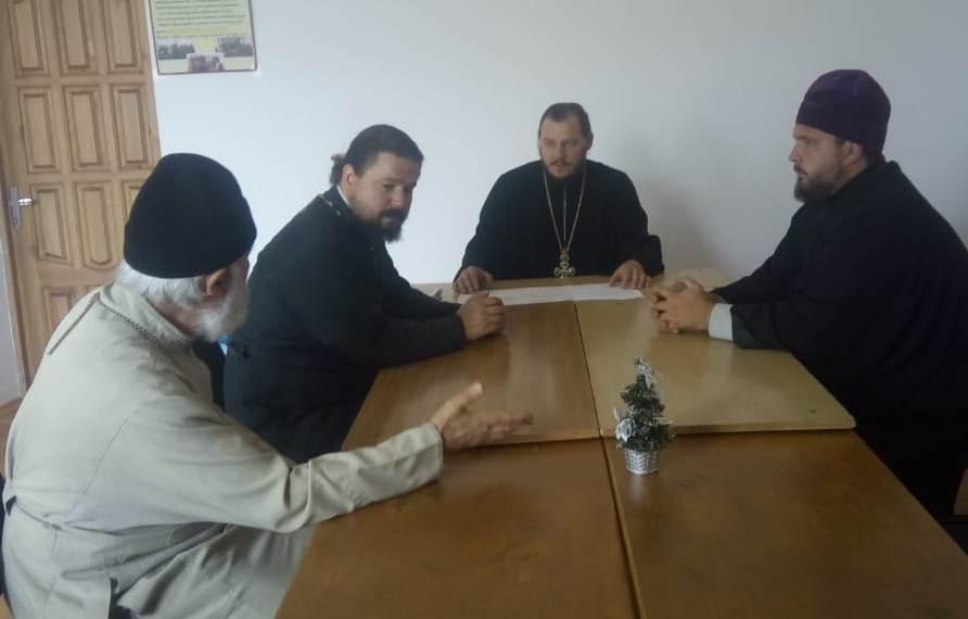 Православные священники, окормляющие исправительные учреждения Адыгеи провели совещание