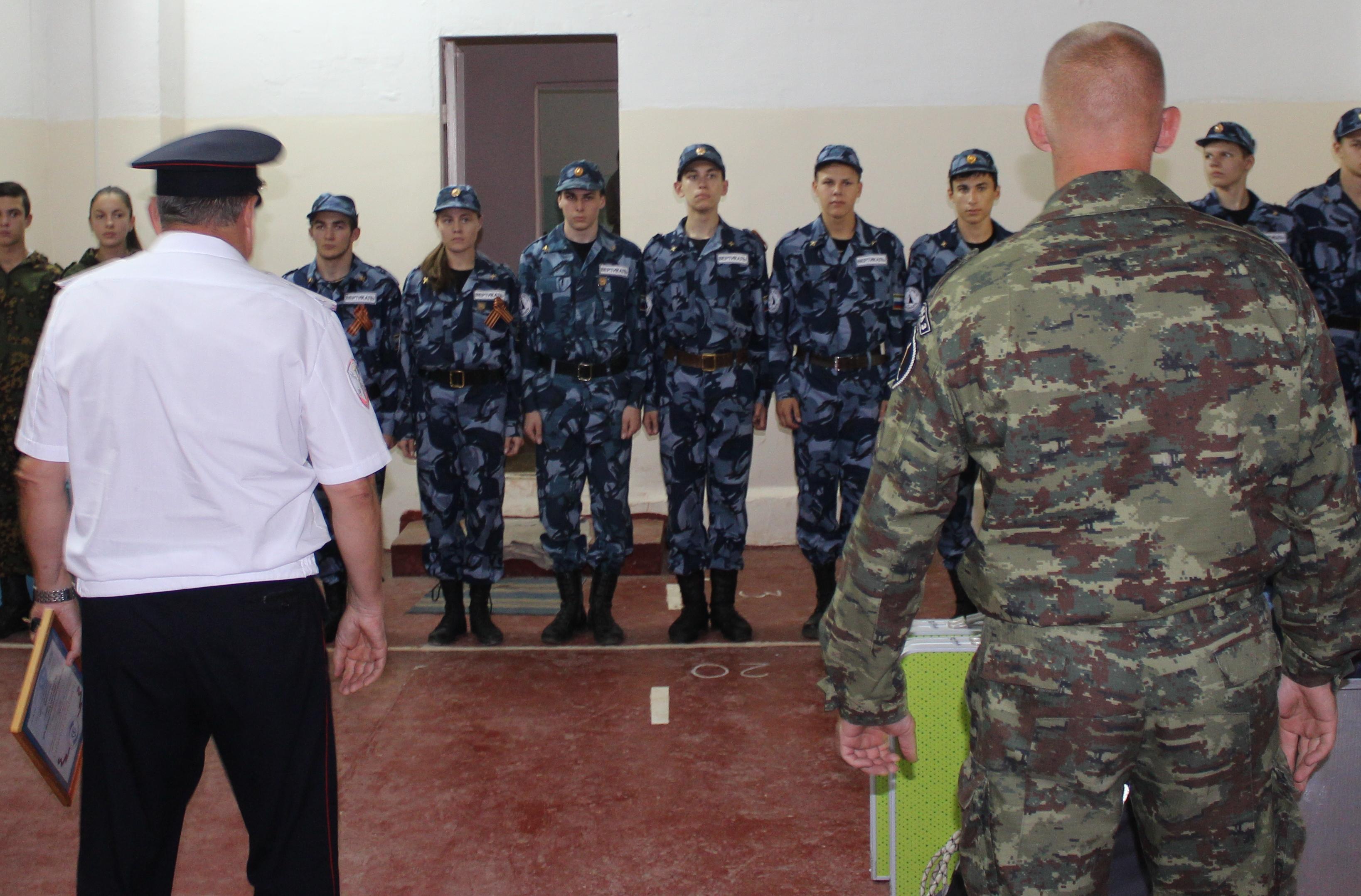 Военно-патриотических объединений традиционно посещают экспозицию национального музея адыгея в