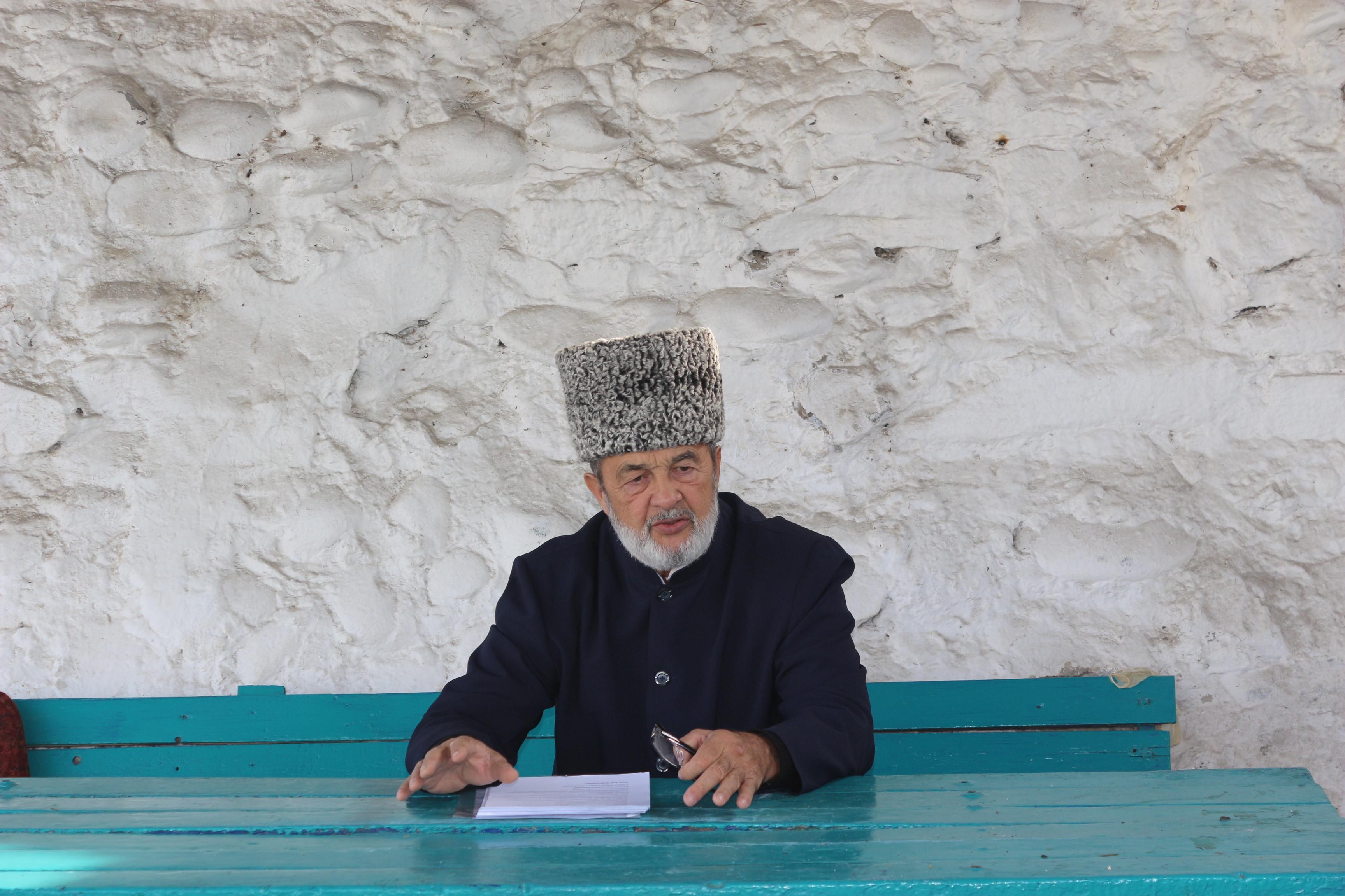 Имам соборной мечети провел беседу с осуждёнными